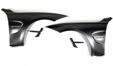 Передние крылья M3-стиль для BMW F30 3-серия