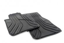 Резиновые ножные коврики для BMW F20 1-серия, передние