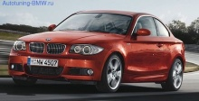 Передний бампер в М стиле для BMW E82/E88 1-серия