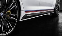 Пленка бокового порога M Performance BMW G30 5-серия (рестайлинг)