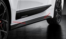 Пленка на пороги M Performance для BMW G22 4-серия