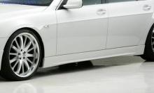 Пороги WALD для BMW E65 7-серия