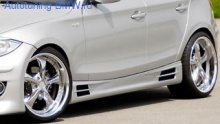 Пороги Rieger для BMW E81/E87 1-серия