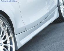 Боковые пороги для BMW E87 1-серия