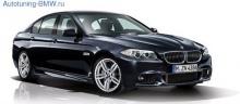 Пороги М-стиль BMW F10 5-серия