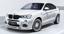 Расширители колесных арок для BMW X3 F25/X4 F26