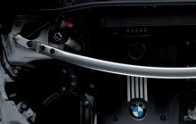 Растяжка передних стоек Performance для BMW 1-серия