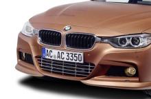 Решётка AC Schnitzer для переднего бампера BMW F30 3-серия