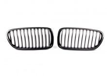 Решетка радиатора BMW F10 5-серия (черная)