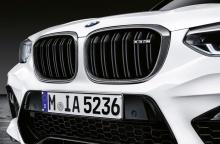Решетки радиатора M Performance для BMW X3M F97