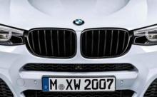 Решётка радиатора M Performance для BMW X3 F25