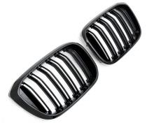 Решётки радиатора М-стиль для BMW X3 G01/X4 G02