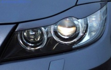 Реснички на фары BMW E90 3-серия