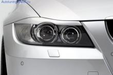 Реснички на фары БВМ Е90 3-серия