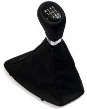 Спортивная головка рычага MКПП c кожаным чехлом BMW