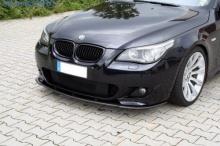 Сплиттер на бампер передний BMW E60 5-серия