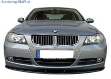 Сплиттер переднего бампера BMW E90 3-серия