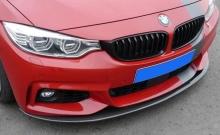 Карбоновый сплиттер переднего бампера для BMW F32 4-серия