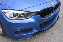 Сплиттер переднего бампера для BMW F30 3-серия