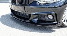 Сплиттер переднего бампера Hamann для BMW F32 4-серия