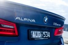Спойлер ALPINA для BMW G30 5-серия