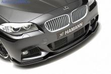 Спойлер переднего бампера Hamann для BMW F10/F11 5-серия