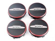 Фиксированные крышки JCW для литых дисков MINI F55/F56/F57