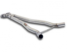 Центральные X-pipe выпускные трубы для BMW M6 E63 6-серия