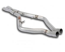 Центральные X-pipe выпускные трубы для BMW X6M E71