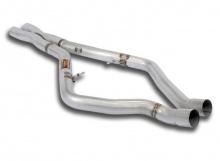 Центральный X-Pipe Supersprint для BMW X5M F85/X6M F86
