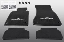 Велюровые коврики AC Schnitzer для BMW G30 5-серия