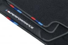 Велюровые ножные коврики M Performance для BMW X1 F48
