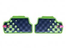 Всепогодные коврики Vivid Green для MINI F55, задние