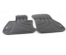 Всепогодные ножные коврики для BMW X1 F48, передние