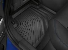 Всепогодные ножные коврики для BMW G22 4-серия, задние
