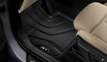 Всепогодные ножные коврики для BMW X1 F48, задние
