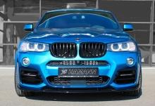 Вставки в передний бампер для BMW X3 F25/X4 F26