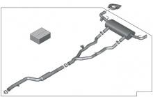 Выхлопная система M Performance для BMW X5 G05/X6 G06