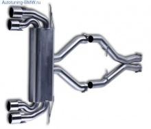 Выпускная система Lumma для BMW X6M E71