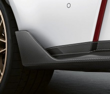 Задние элероны M Performance для BMW M3 G80