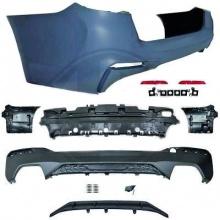 Задний бампер M Performance стиль для BMW G30 5-серия