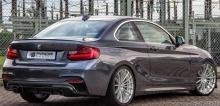 Задний бампер Prior Design для BMW F22 2-серия
