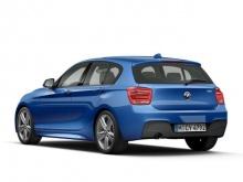 Задний бампер М-стиль для BMW F20 1-серия