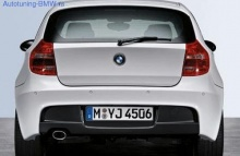 Задний бампер М-стиль для BMW E81/E87 1-серия