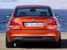 Задний бампер в М стиле для BMW E82/E88 1-серия