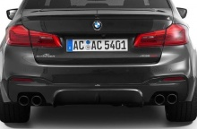 Задний диффузор AC Schnitzer для BMW G30 5-серия