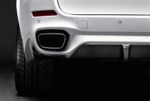 Закрылки заднего бампера M Performance для BMW X5 F15