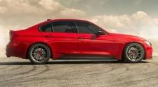 BMW F30 335i  цвета Melbourne Red получает новые колеса Vorsteiner V-FF 108