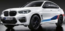 BMW X3M и X4M получают эксклюзивные детали M Performance.