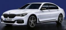 BMW представила фирменные аксессуары M Performance для 7 серии